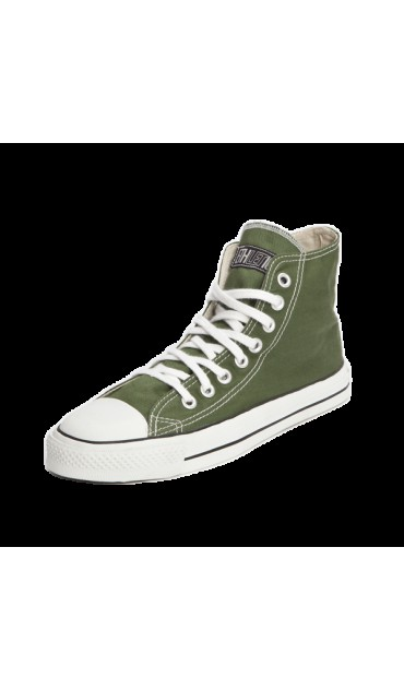 "Fair Trainer Hi Cut ""Classic"" Campaign green / white"