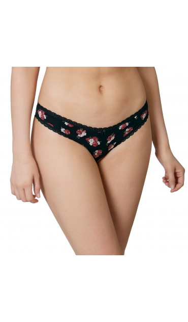 braguita Brazilian Slip Little Lucy - flowers large