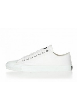 Fair Trainer  White Cap Lo Cut Collection 17 Just White   Just White