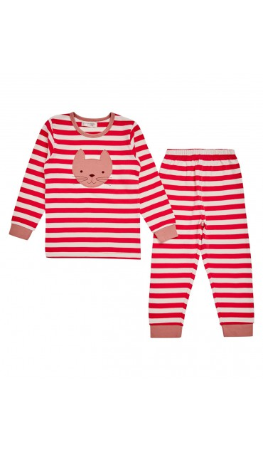 LONG JOHN / LONG JOHN RETRO Girls Pyjama stripes