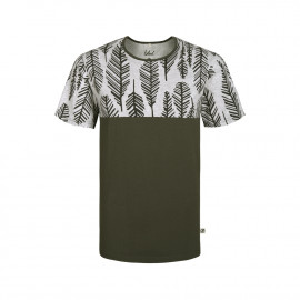 feather t-shirt oliv