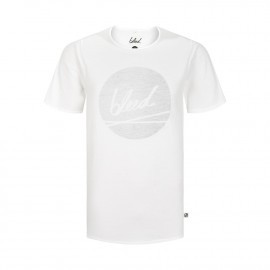 dot logo t-shirt weiß