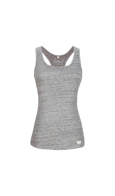 camiseta basic tank top gris melange