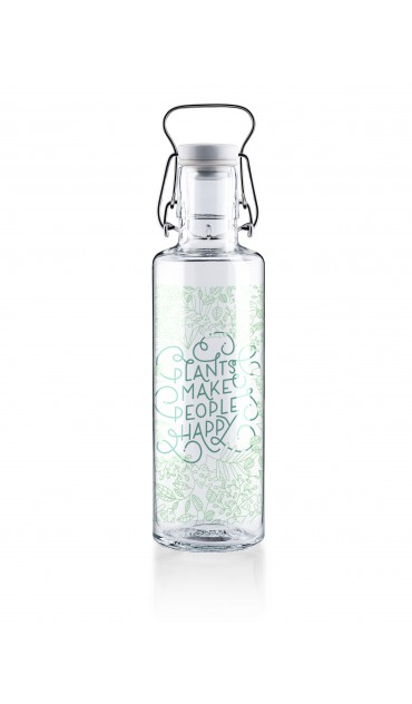 "Botella Soulbottle 0,6l ""plants make people happy"""