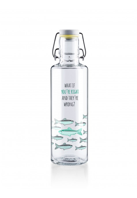 "Botella Soulbottle 0,6l ""You´re right"""