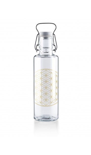 "Botella Soulbottle 0,6l ""Flower of life"""