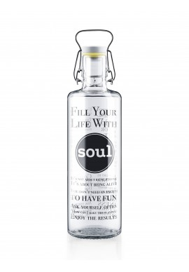 "Botella Soulbottle 1,0l ""Fill your life with soul"""