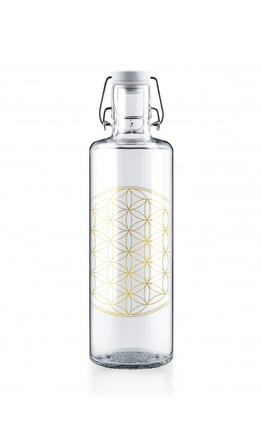 "Botella Soulbottle 1,0l ""Flower of Life"""